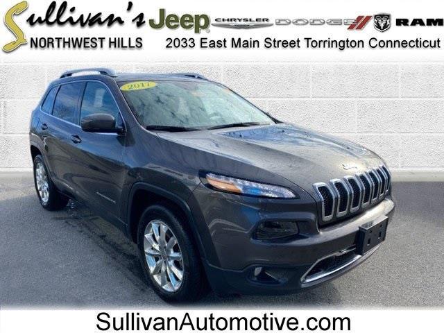 Used 2017 Jeep Cherokee in Avon, Connecticut | Sullivan Automotive Group. Avon, Connecticut