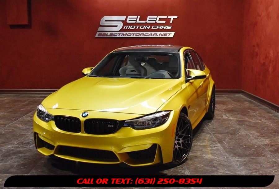 Used 2018 BMW M3 in Deer Park, New York | Select Motor Cars. Deer Park, New York
