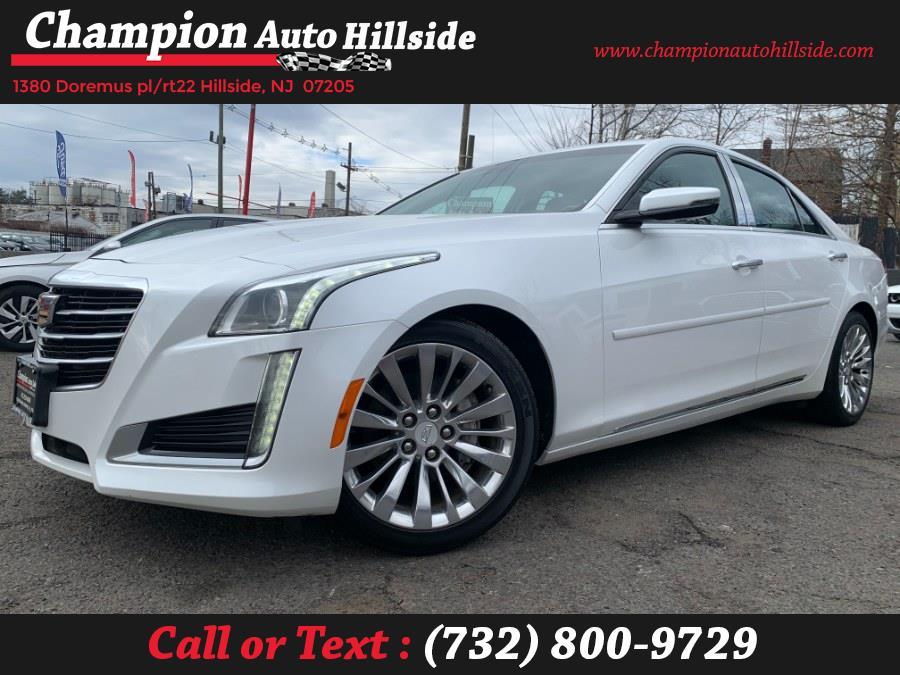 Used 2016 Cadillac CTS Sedan in Hillside, New Jersey | Champion Auto Sales. Hillside, New Jersey
