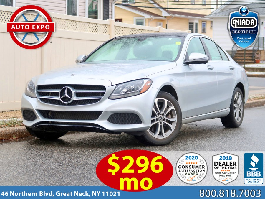 Used 2018 Mercedes-benz C-class in Great Neck, New York | Auto Expo Ent Inc.. Great Neck, New York