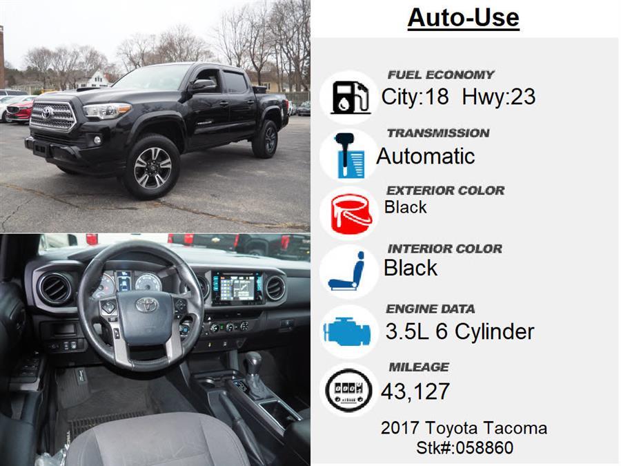 Used Toyota Tacoma TRD Sport 2017 | Autouse. Andover, Massachusetts