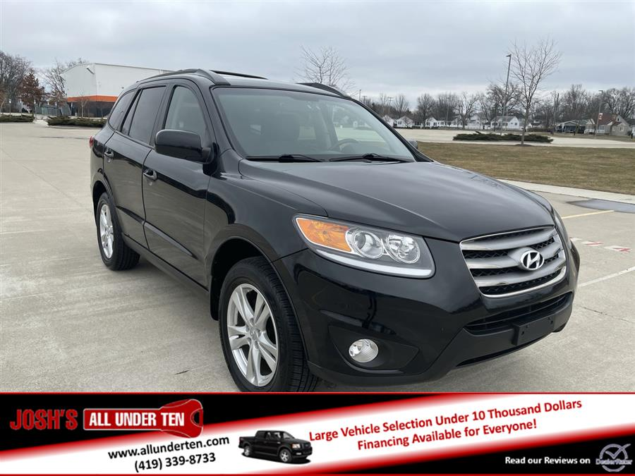 Used 2012 Hyundai Santa Fe in Elida, Ohio   Josh's All Under Ten LLC. Elida, Ohio