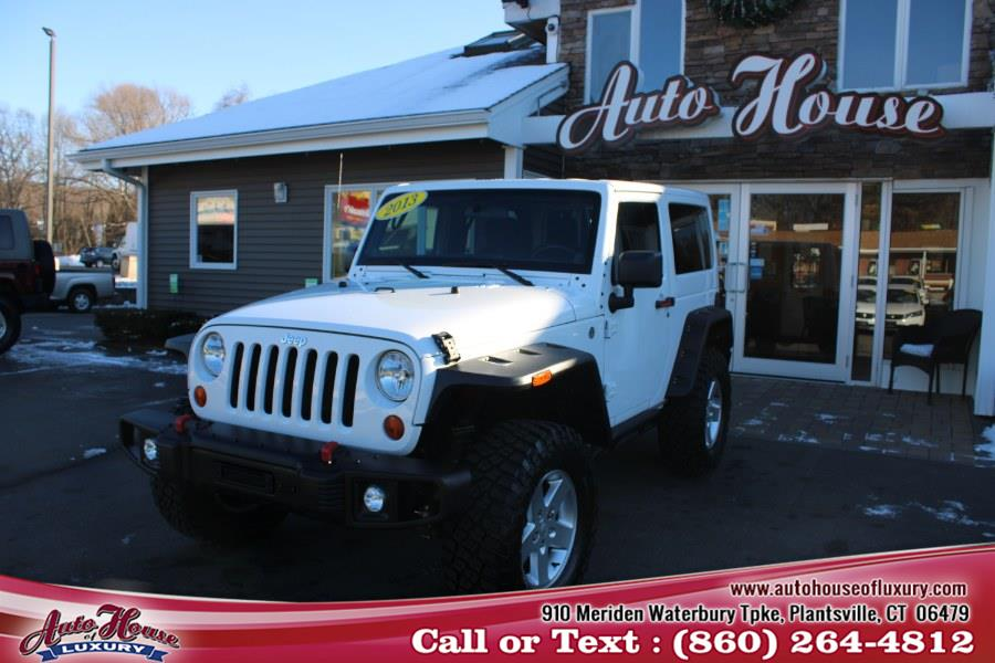 Used Jeep Wrangler 4WD 2dr Sport 2013 | Auto House of Luxury. Plantsville, Connecticut