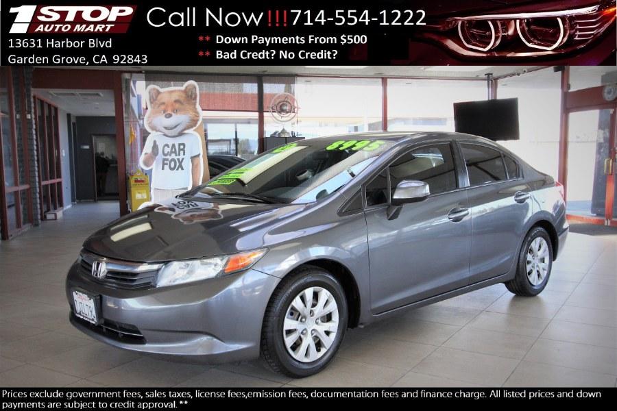 Used 2012 Honda Civic Sdn in Garden Grove, California | 1 Stop Auto Mart Inc.. Garden Grove, California