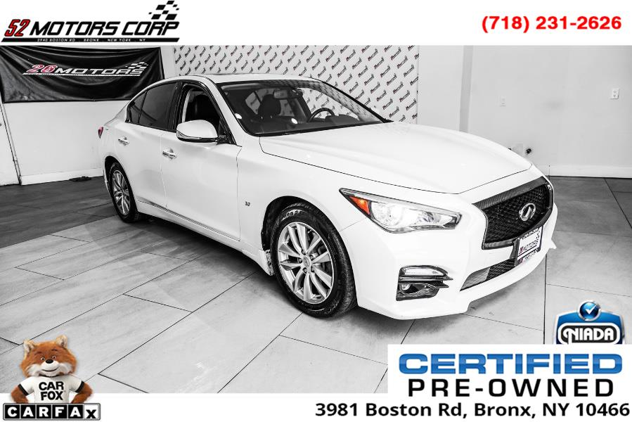 Used 2014 Infiniti Q50 in Woodside, New York | 52Motors Corp. Woodside, New York