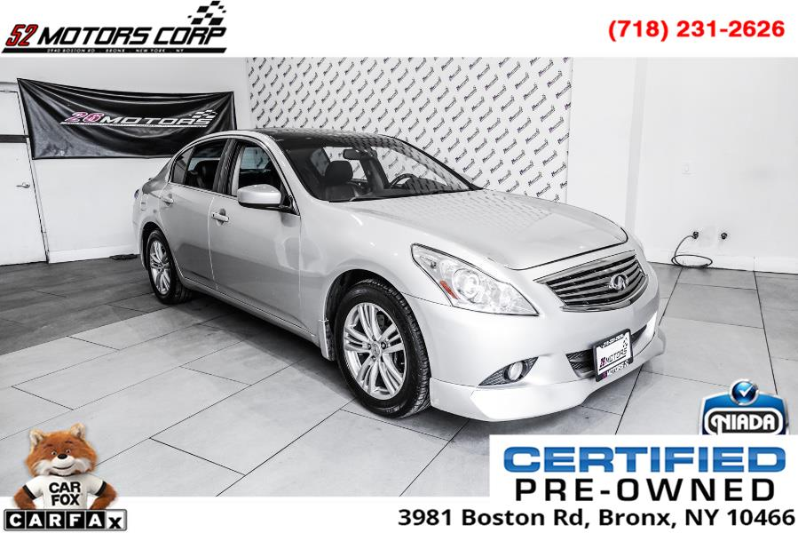 Used 2011 Infiniti G25 Sedan in Woodside, New York | 52Motors Corp. Woodside, New York