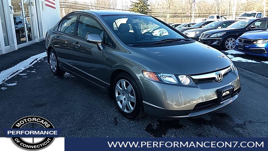 Used Honda Civic Sdn 4dr Auto LX 2008 | Performance Motor Cars. Wilton, Connecticut