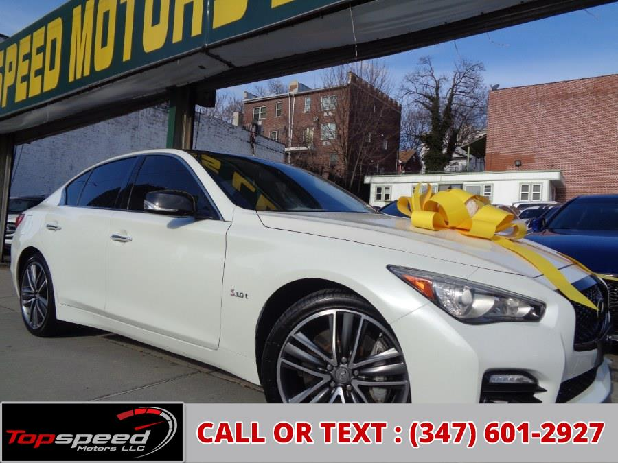 Used 2016 INFINITI Q50 in Jamaica, New York | Top Speed Motors LLC. Jamaica, New York