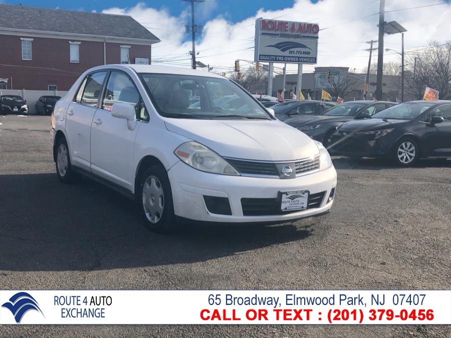 Used Nissan Versa 4dr Sdn I4 Auto 1.8 S 2008 | Route 4 Auto Exchange. Elmwood Park, New Jersey