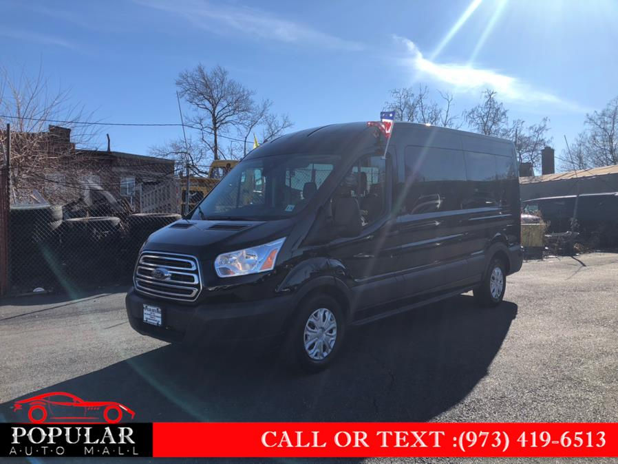 "Used Ford Transit Passenger Wagon T-350 148"" Med Roof XLT Sliding RH Dr 2019 