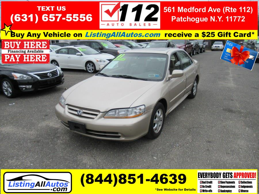 Used Honda Accord Sdn EX Auto ULEV w/Leather 2001 | www.ListingAllAutos.com. Patchogue, New York