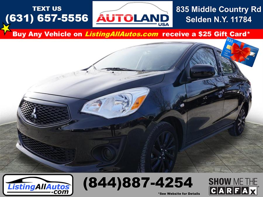 Used 2020 Mitsubishi Mirage G4 in Patchogue, New York | www.ListingAllAutos.com. Patchogue, New York