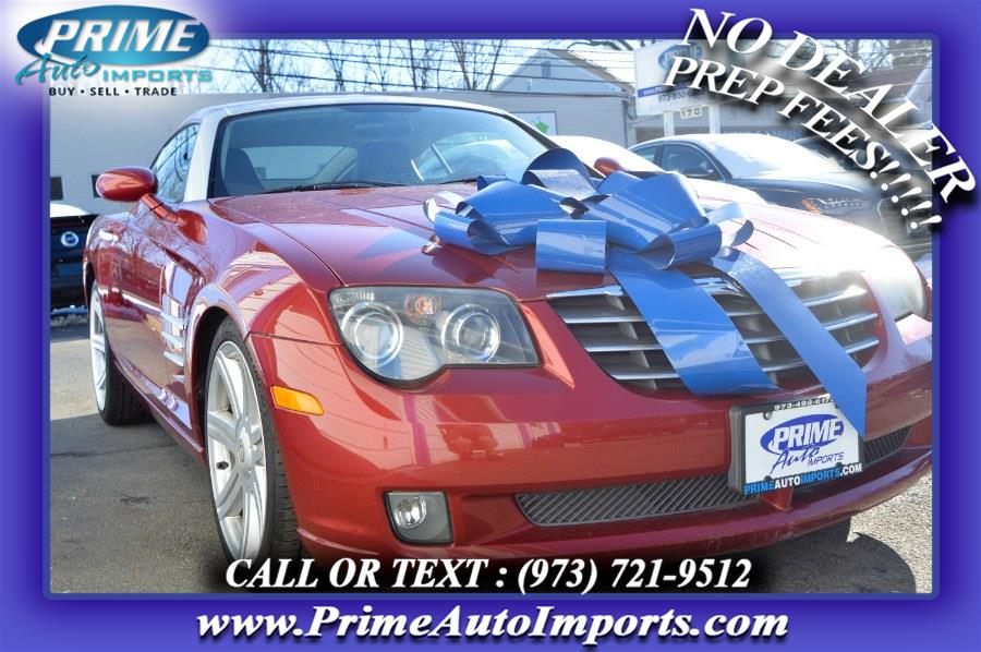 Used Chrysler Crossfire 2dr Cpe Limited 2005 | Prime Auto Imports. Bloomingdale, New Jersey