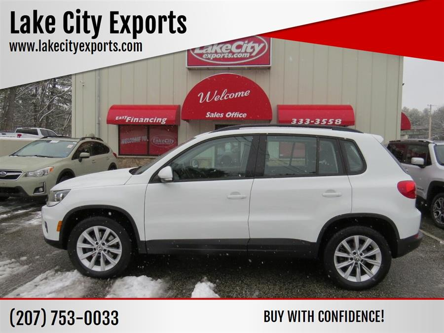 Used Volkswagen Tiguan 2.0T S 4Motion AWD 4dr SUV 2017   Lake City Exports Inc. Auburn, Maine