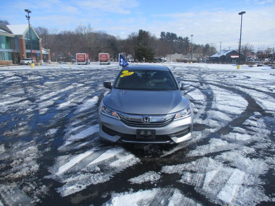 Used Honda Accord Sedan LX CVT 2017   Universal Motors LLC. New Britain, Connecticut
