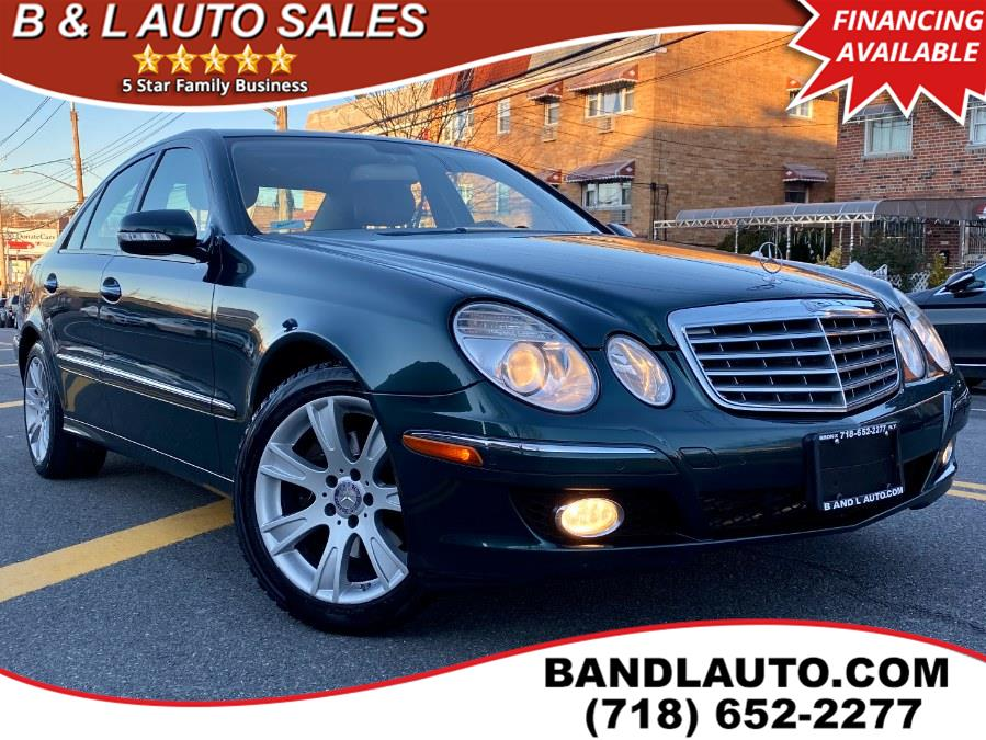 Used 2009 Mercedes-Benz E-Class in Bronx, New York | B & L Auto Sales LLC. Bronx, New York