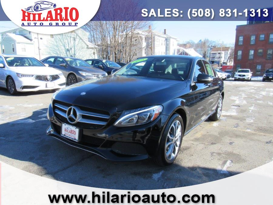 Used 2016 Mercedes-Benz C-300 in Worcester, Massachusetts | Hilario's Auto Sales Inc.. Worcester, Massachusetts