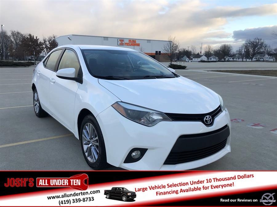 Used Toyota Corolla 4dr Sdn CVT LE (Natl) 2014 | Josh's All Under Ten LLC. Elida, Ohio