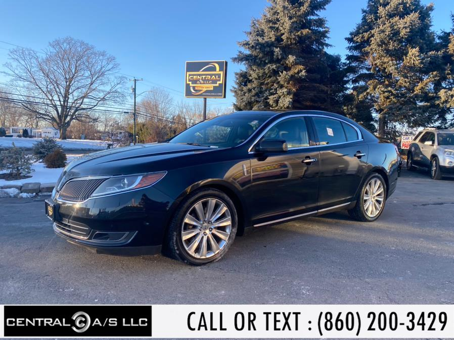 Used Lincoln MKS 4dr Sdn 3.5L AWD EcoBoost 2013 | Central A/S LLC. East Windsor, Connecticut