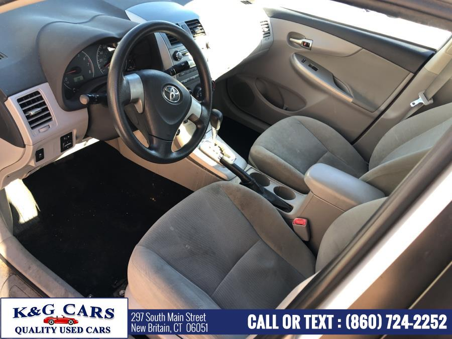 Used Toyota Corolla 4dr Sdn Auto LE (Natl) 2011 | K and G Cars . New Britain, Connecticut