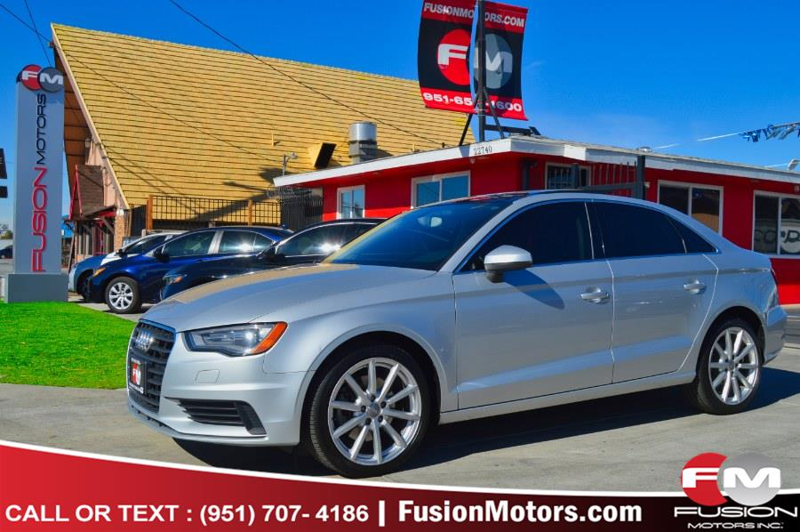 Used 2015 Audi A3 in Moreno Valley, California   Fusion Motors Inc. Moreno Valley, California