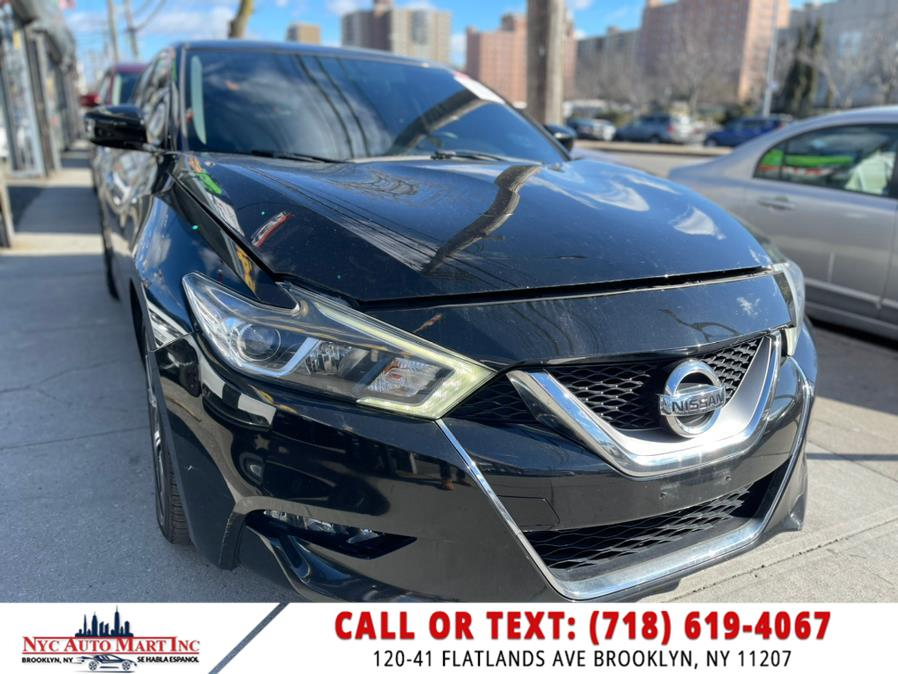 Used 2016 Nissan Maxima in Brooklyn, New York | NYC Automart Inc. Brooklyn, New York