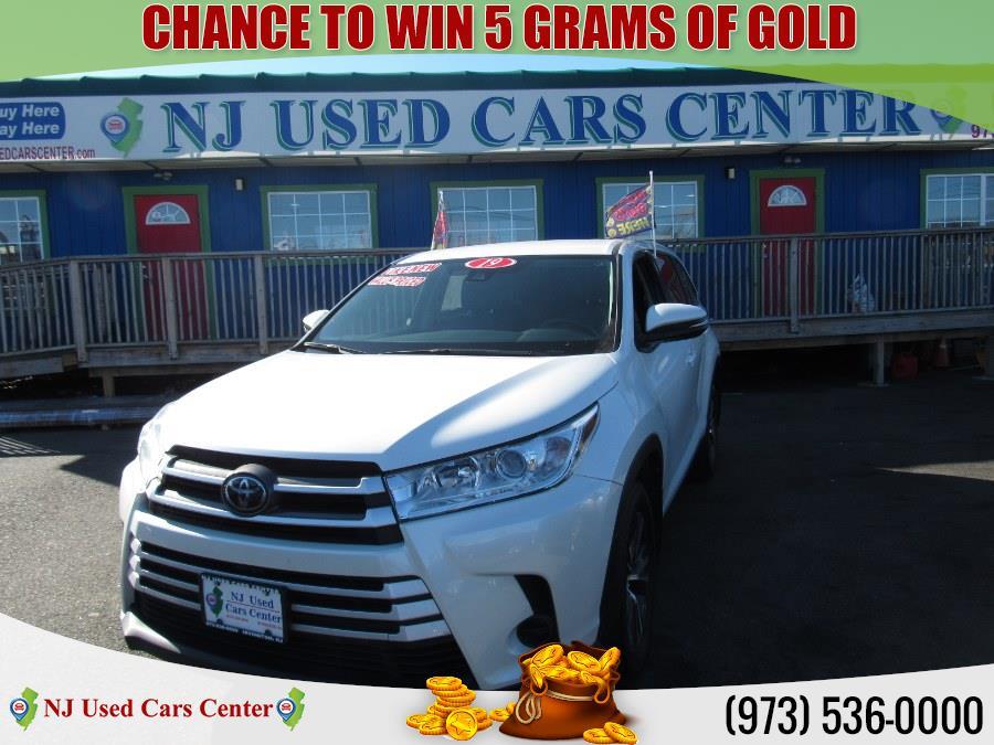 Used 2019 Toyota Highlander in Irvington, New Jersey   NJ Used Cars Center. Irvington, New Jersey