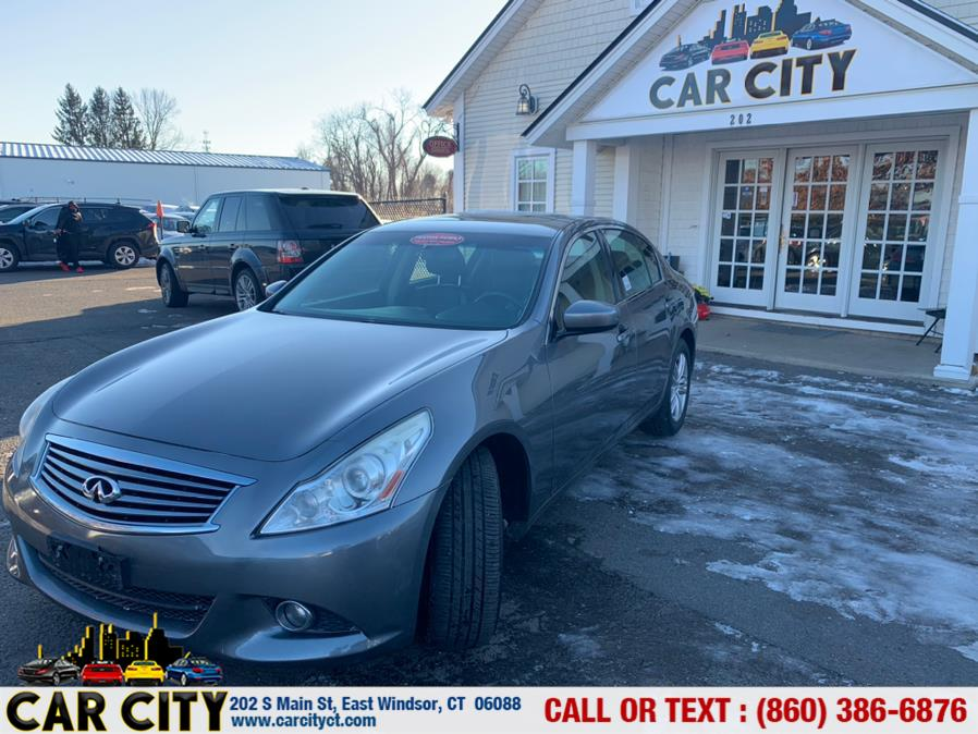 Used Infiniti G25 Sedan 4dr x AWD 2012 | Car City LLC. East Windsor, Connecticut