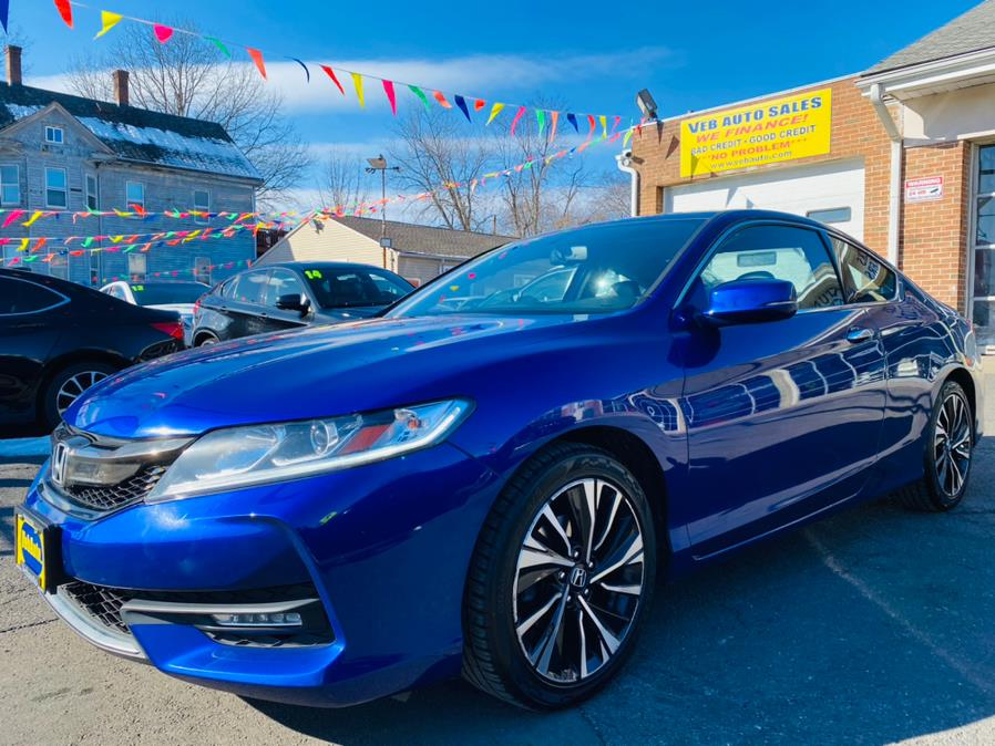 Used Honda Accord Coupe EX-L V6 Auto 2017 | VEB Auto Sales. Hartford, Connecticut
