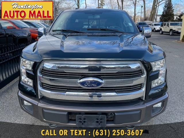 "Used Ford F-150 4WD SuperCrew 157"" Lariat 2016 | Huntington Auto Mall. Huntington Station, New York"