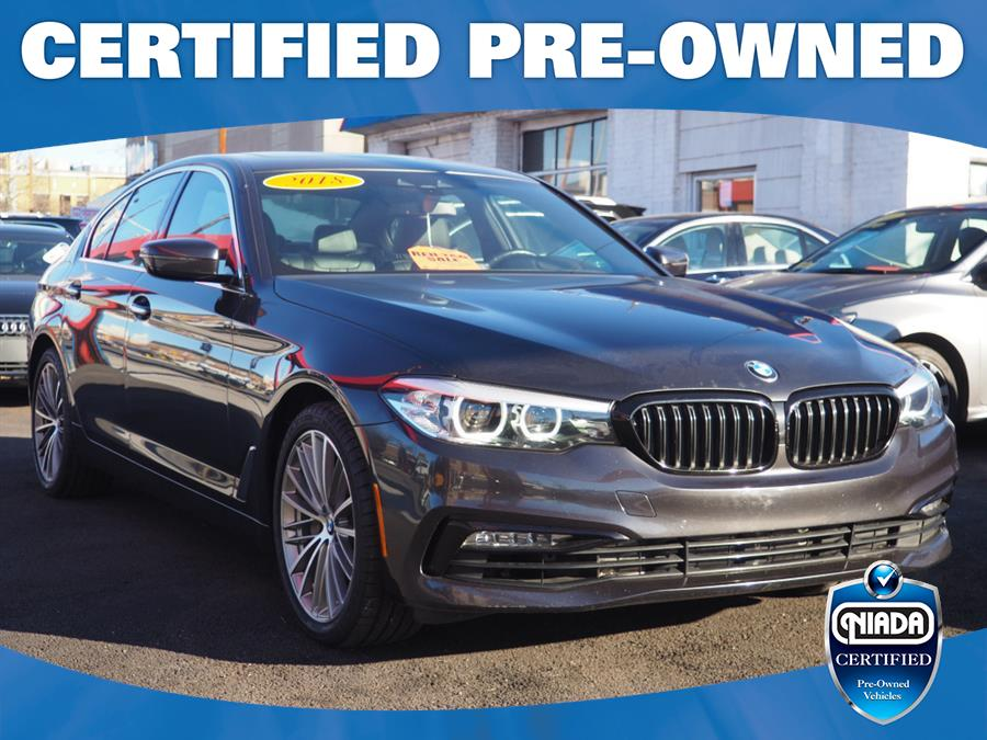 Used 2018 BMW 5 Series in Jackson Heights, New York | Connection Auto Sales Inc.. Jackson Heights, New York