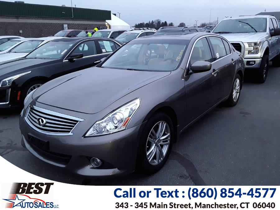 Used Infiniti G37 Sedan 4dr x AWD 2012 | Best Auto Sales LLC. Manchester, Connecticut