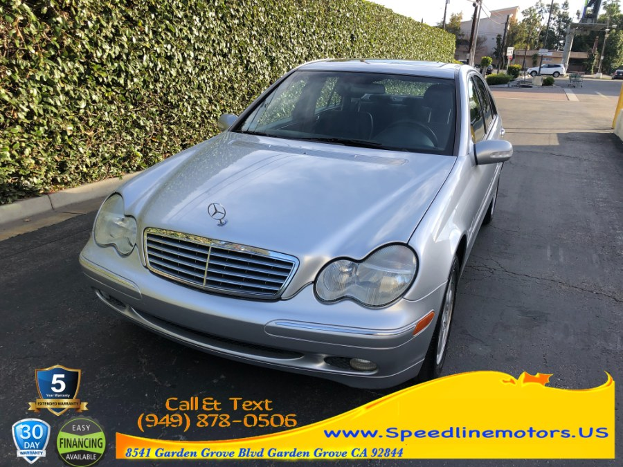 Used 2001 Mercedes-Benz C-Class in Garden Grove, California | Speedline Motors. Garden Grove, California