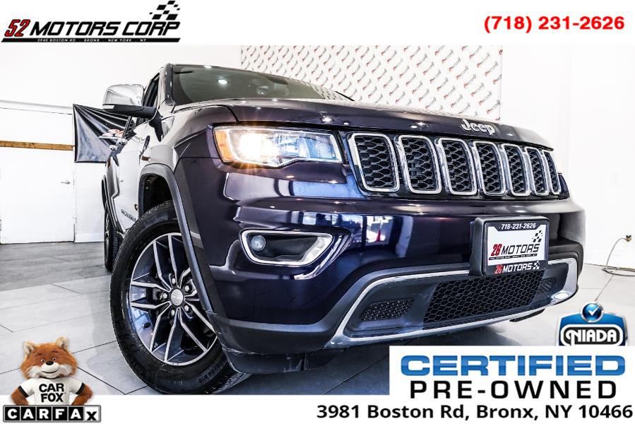 Used Jeep Grand Cherokee Limited 4x4 2017 | 52Motors Corp. Woodside, New York
