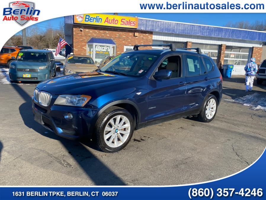 Used 2013 BMW X3 in Berlin, Connecticut | Berlin Auto Sales LLC. Berlin, Connecticut