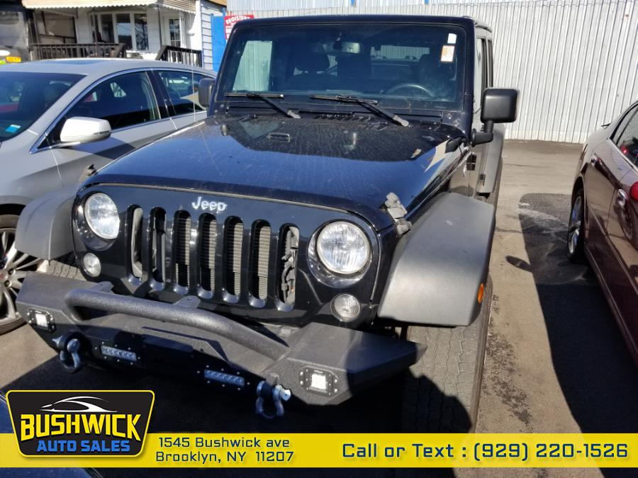 Used Jeep Wrangler Unlimited 4WD 4dr Sport 2016 | Bushwick Auto Sales LLC. Brooklyn, New York