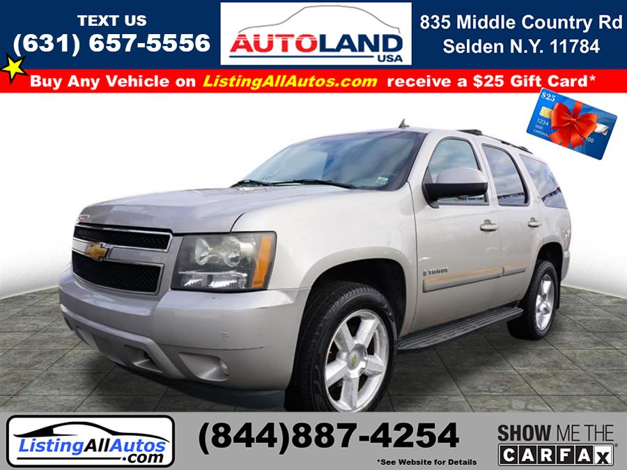 Used Chevrolet Tahoe LT 2007   www.ListingAllAutos.com. Patchogue, New York