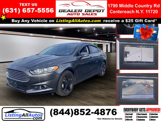 Used Ford Fusion 4dr Sdn SE AWD 2016 | www.ListingAllAutos.com. Patchogue, New York