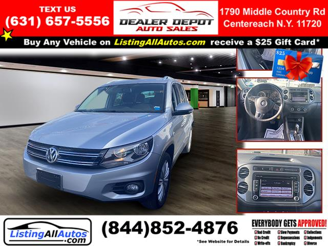 Used Volkswagen Tiguan 4WD 4dr Auto S 2012 | www.ListingAllAutos.com. Patchogue, New York