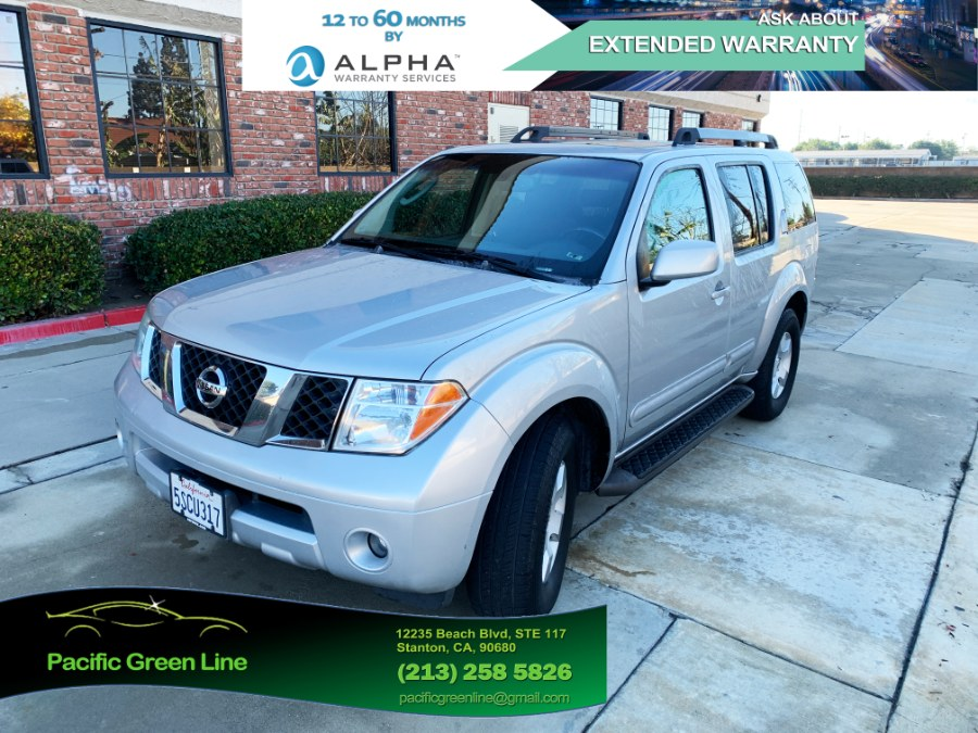 Used Nissan Pathfinder SE 2WD 2006   Pacific Green Line. Stanton, California