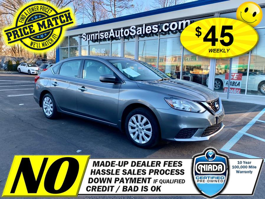 Used Nissan Sentra S CVT 2017 | Sunrise Auto Sales of Elmont. Elmont, New York