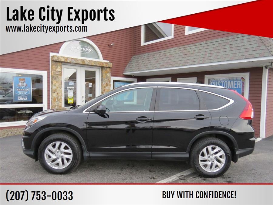 Used Honda Cr-v EX L AWD 4dr SUV 2015 | Lake City Exports Inc. Auburn, Maine
