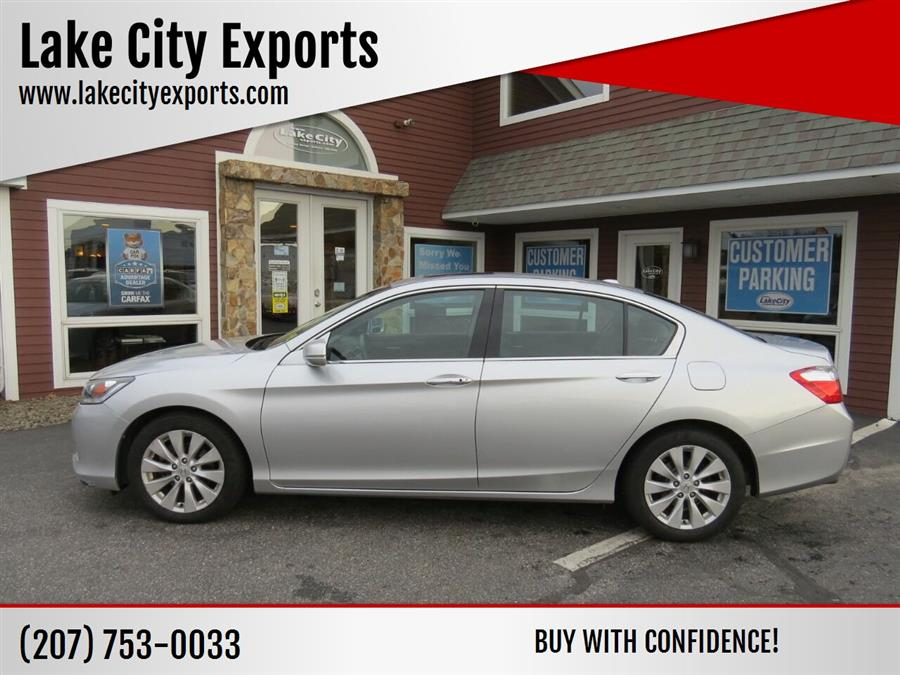 Used Honda Accord EX L V6 4dr Sedan 2014 | Lake City Exports Inc. Auburn, Maine