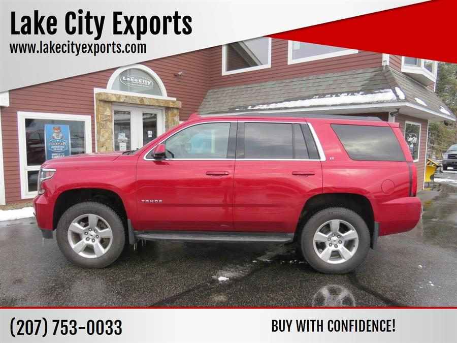 Used Chevrolet Tahoe LT 4x4 4dr SUV 2015 | Lake City Exports Inc. Auburn, Maine
