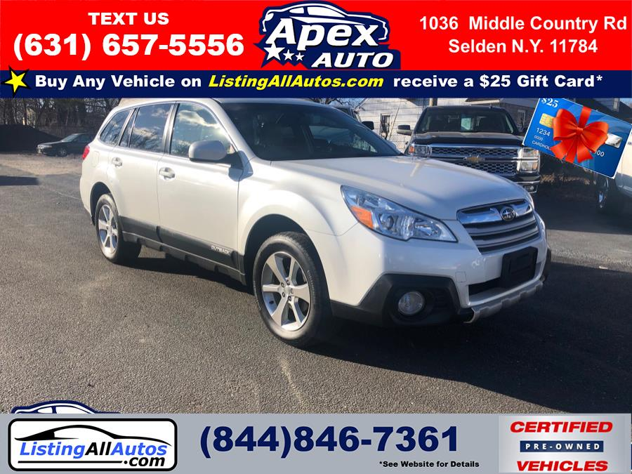 Used Subaru Outback 4dr Wgn H4 Auto 2.5i Limited 2014 | www.ListingAllAutos.com. Patchogue, New York