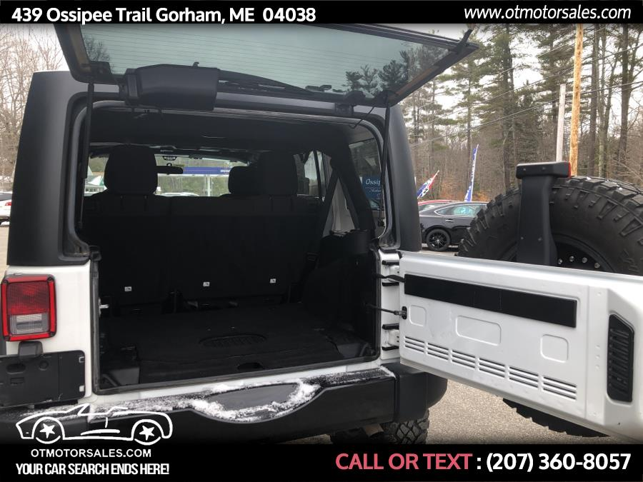 Used Jeep Wrangler Unlimited 4WD 4dr Sport 2015   Ossipee Trail Motor Sales. Gorham, Maine