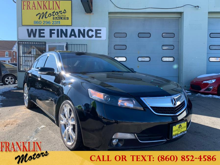 Used 2014 Acura TL in Hartford, Connecticut | Franklin Motors Auto Sales LLC. Hartford, Connecticut
