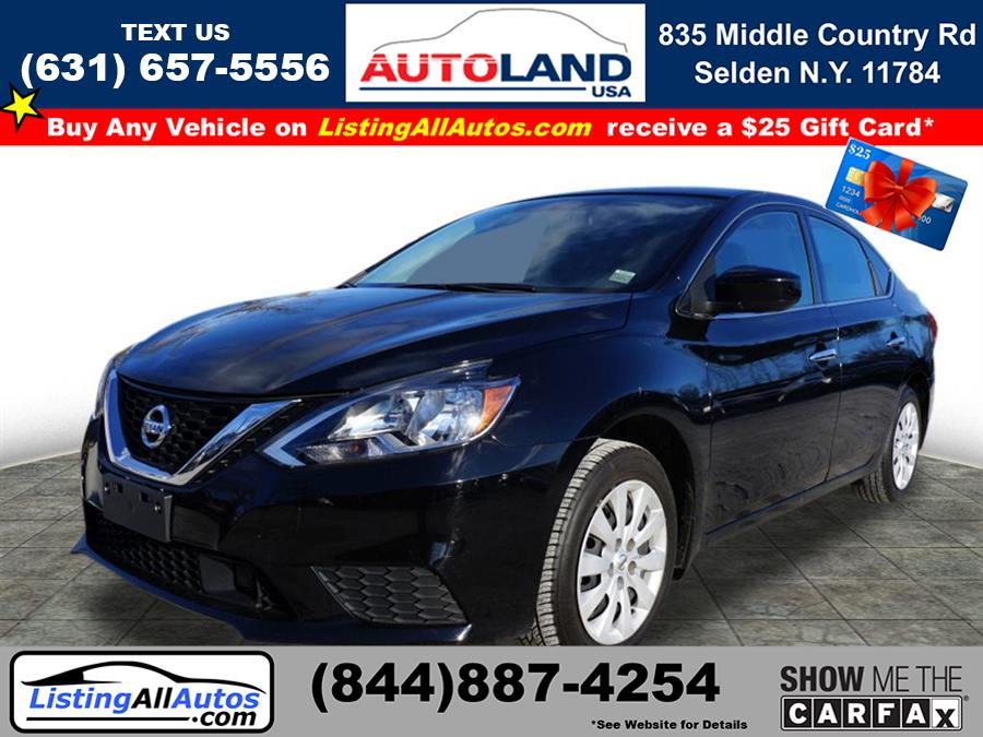 Used 2019 Nissan Sentra in Patchogue, New York | www.ListingAllAutos.com. Patchogue, New York