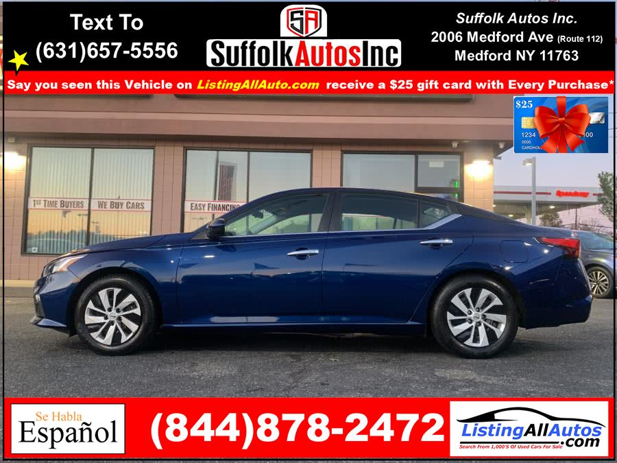 Used Nissan Altima 2.5 S Sedan 2020 | www.ListingAllAutos.com. Patchogue, New York