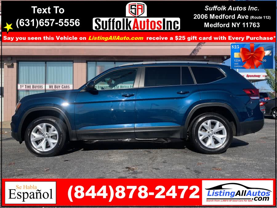 Used Volkswagen Atlas 3.6L V6 SE w/Technology 4MOTION 2019 | www.ListingAllAutos.com. Patchogue, New York